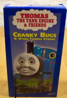Thomas the Tank Engine & Friends CRANKY BUGS VHS VIDEO 013132122137