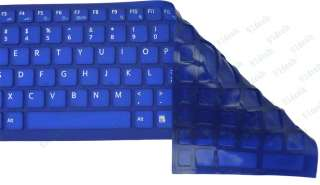 Blue Keyboard Skin Cover for Sony VAIO VPC EB EE EC F2 Series