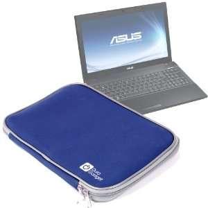 Durable Impact Resistant Blue Neoprene Laptop Case For