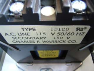 You are bidding on a Warrick Controls Liquid Level Control Relay