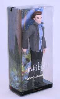 Brand New Twilight Edward Cullen Barbie Collector Doll