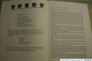 Buch alte Handwerkerlieder, Reime, Walz, Zunft, Wanderjahre, Gesellen
