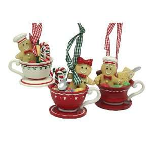 12 Gingerbread Kisses Cookie Boy & Girl Candies Coffee Cup
