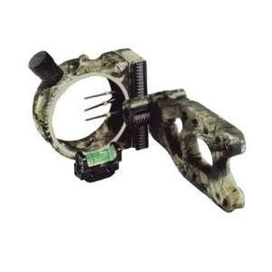 PSE Aries Three .029 Pin Camo Bow Sight, Mossy Oak Breakup