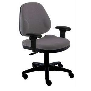 Office Master BC46 BR5 TASK CHAIR WITH T SHAPED ARMS