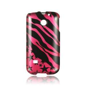 Huawei M865 Ascend 2 Graphic Case   Hot Pink Zebra with