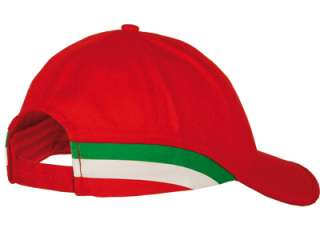 OFFICIAL LICENSED FERRARI ITALY FLAG CAP F1 ALONSO