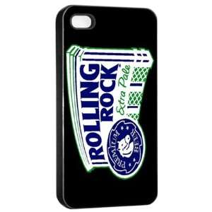 Rolling Rock Beer Logo Case for Iphone 4/4s (Black) Free