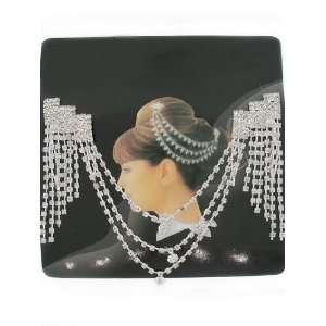 Crystal Hair Comb ~ Fashion Jewelry Beauty