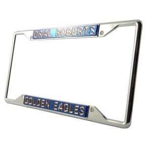 Oral Roberts Golden Eagles Laser Frame