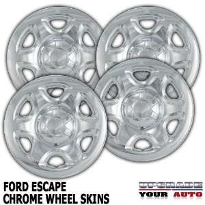 2007 2012 Ford Escape 16 Chrome Wheel Skins Automotive