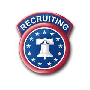 United States Army Recruiting Command Patch Decal Sticker