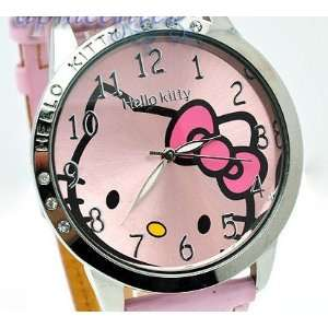 USA Seller Miss Peggy Jos   Classic Hello Kitty Round Shape Quartz