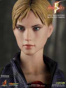 HOT TOYS BATTLE SUIT VERSION JILL VALENTINE 12 1/6 FIGURE RESIDENT