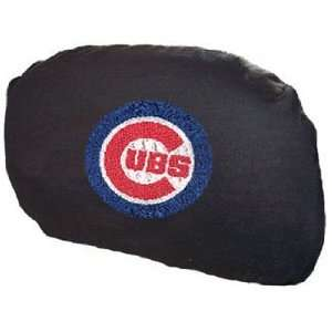 Chicago CUBS MLB Set 2 Car Seat HEAD REST COVERS New