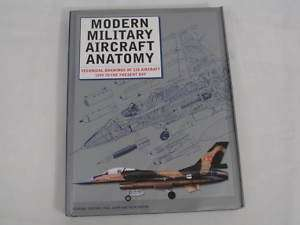 Modern Military Aircraft Anatomy Aviation Technical Drawings WWII
