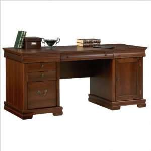 700 Avignon Executive Credenza w/ Optional Hutch: Furniture & Decor
