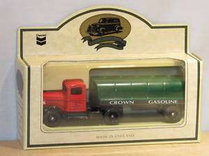 CROWN GAS   STANDARD OIL   SEMI TRUCK & TRAILER   LLEDO