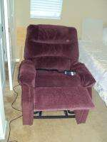 Maroon Pride Electric Recliner Lift Chair