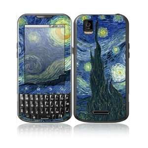 Starry Night Design Decorative Skin Cover Decal Sticker