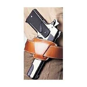 Jak Slide Belt Holster, Left Hand, Leather, Tan Sports