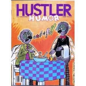 HUSTLER HUMOR AUGUST 1987 8/87: HUSTLER MAGAZINE:  Books