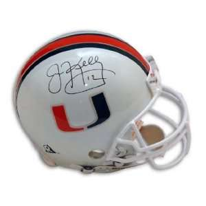 Jim Kelly University Of Miami Proline Helmet