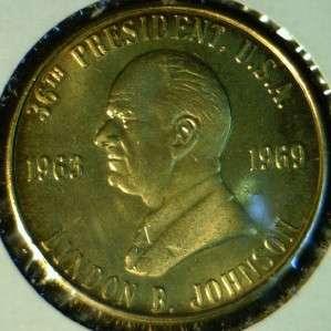 Johnson MINT Commemorative Bronze Medal   Token   Coin