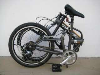 20FOLDING BIKE BICYCLE SHIMANO SUSPENSION YOUTH ROAD