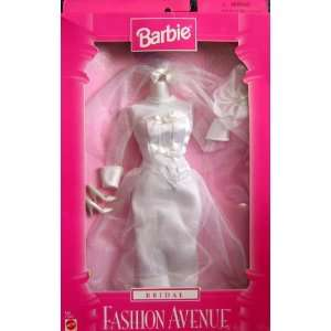 Barbie BRIDAL Fashion Avenue Collection Wedding Gown & Accessories
