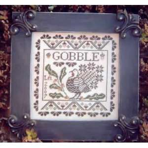 Gobble sampler (cross stitch): Arts, Crafts & Sewing