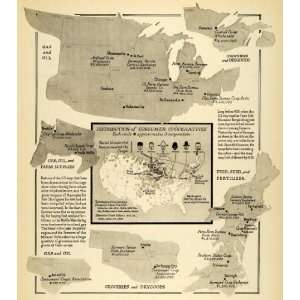 Co op Farming United States Map Grocery Food Agriculture Crop Farmer