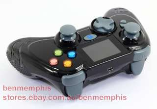 BLACK EVO DATEL WIRELESS CONTROLLER Turbo Rapid Fire Xbox 360