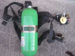 MSA 4500 II self contained breathing SCBA air pak