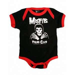 THE MISFITS FIEND CLUB INFANT ONE PIECE BODYSUIT: Baby