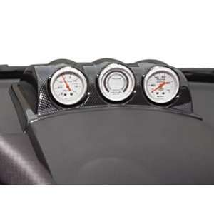 Auto Meter Dash Pods Dash Pod, Triple 2 1/ 16 in., Black, Volkswagen