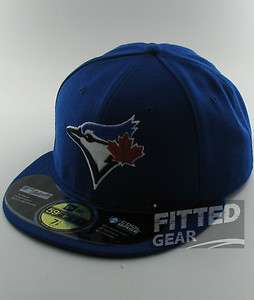 Toronto BLUE JAYS 2012 On Field Authentic GAME New Era 59Fifty Fitted