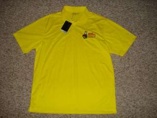 NWT MENS LG NIKE GOLF DRI FIT OREGON DUCKS GRAND MARSHAL POLO SHIRT