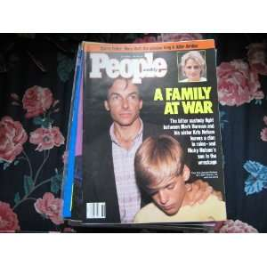 People Weekly (MARK HARMON , Sister , Kris Nelson , Ricky