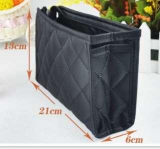 Cosmetic MAKEUP BAG w MIRROR Travel Case Purse Zipper NEW Organizer
