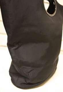 Vintage Authentic GUCCI Black Large Shopper Tote Handbag Purse Bag
