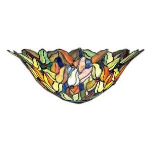 Kichler Vibrant Art Glass Half Moon Wall Sconce