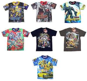 Transformers 3 Movie Kids Boys T Shirt ANY DESIGN/SIZE