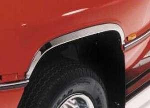 Stainless Steel Custom Chrome Fender Well Trim Molding   Set of 4