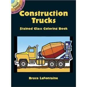 Book (Dover Stained Glass Coloring Book) [Paperback] Bruce LaFontaine