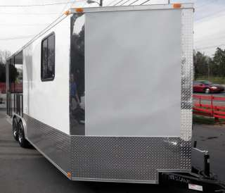 NEW 8 X 20 ENCLOSED SMOKER CONCESSION BBQ FOOD TRAILER