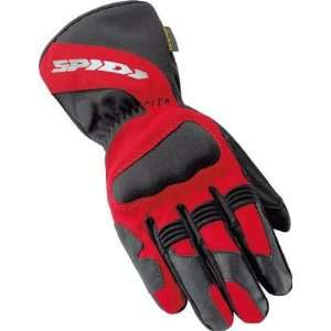 Spidi Sport S.R.L. Ladies Alu Tech Gloves , Color: Red, Size: Sm C34
