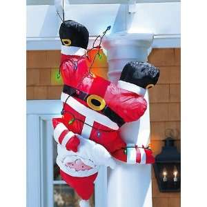 Inflatable Santa Claus Lights Up Indoor/Outdoor Decor
