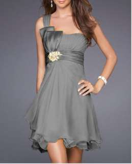 New Chiffon Coctail Homecoming Dresses prom dress bridesmaid gown