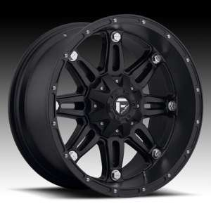 MHT Fuel Hostage 17x8.5 Black Wheels All Trucks/SUV